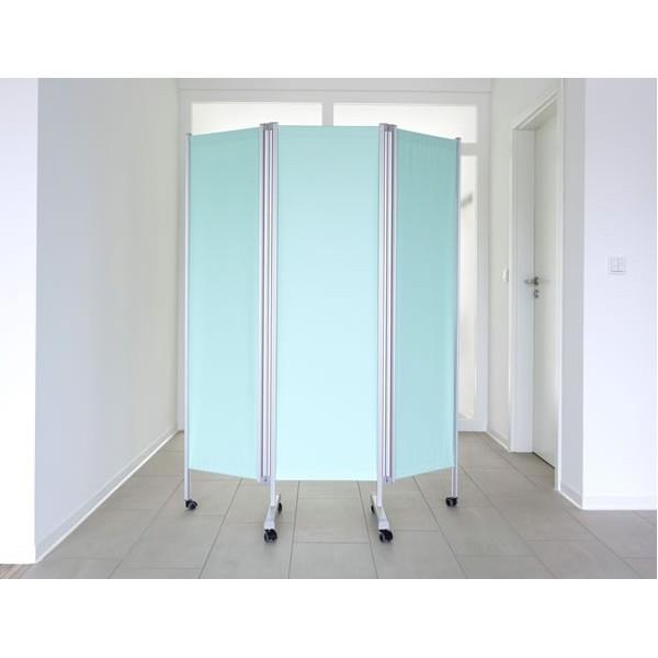 Paravent m dical 3 panneaux ropimex rbp for Paravent salle de bain
