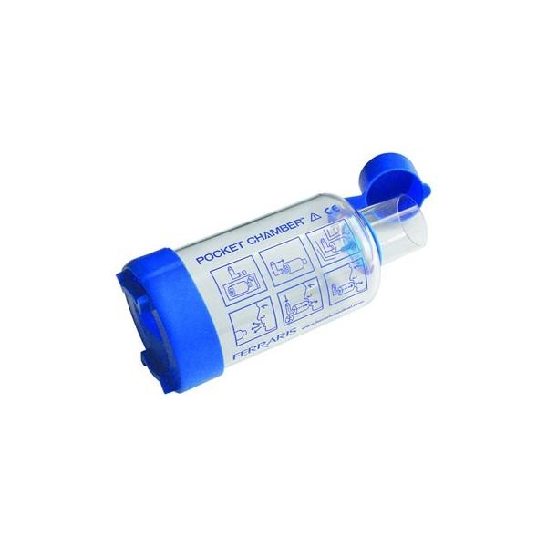 Chambre d 39 inhalation universelle de poche pocket chamber for Chambre d inhalation