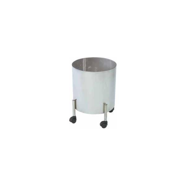 baquet grande capacit sur 4 roulettes antistatiques bloc op ratoire. Black Bedroom Furniture Sets. Home Design Ideas