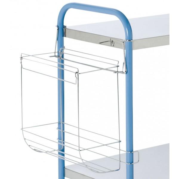 support sac poubelle 30l pour gu ridon m dical tourinox. Black Bedroom Furniture Sets. Home Design Ideas