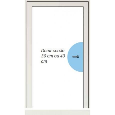 protection de porte plaque de propret moon. Black Bedroom Furniture Sets. Home Design Ideas