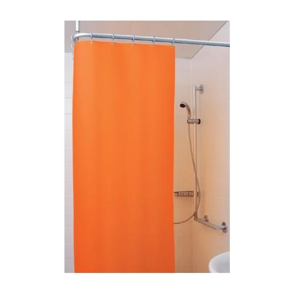 Rideau de douche ropimex cleanique 240x200 cm cq2420 - Longueur rideau de douche ...