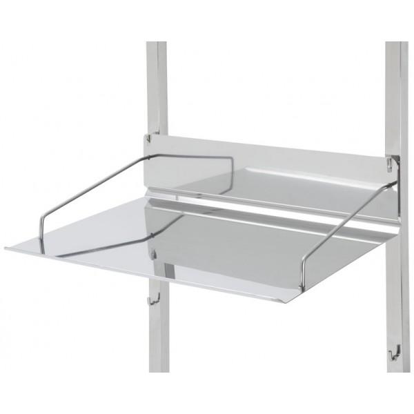 tablette inox 18 10 pour chariots de st rilisation tourinox. Black Bedroom Furniture Sets. Home Design Ideas