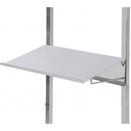 tablette critoire inox 18 10 pour chariots de st rilisation tourinox. Black Bedroom Furniture Sets. Home Design Ideas