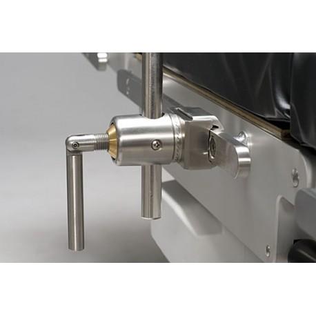 Clameau Reison 10305 à serrage radial, fixation simultanée du clameau et de l'accessoire