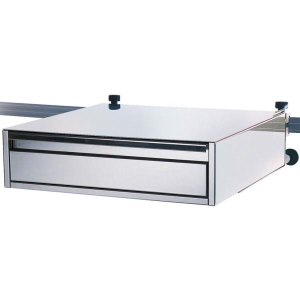 Bloc tiroir inox pour rail mural m dical standard - Rail de tiroir ...