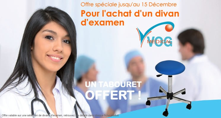 Offre spéciale divan médical VOG