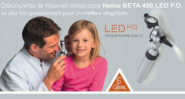Otoscope Heine Beta 400 Led