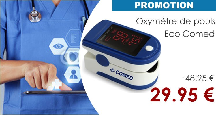 Oxymètre de pouls pas cher