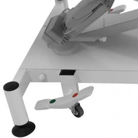 Roulettes escamotables pour divans d'examen VIMEU de Vog Médical