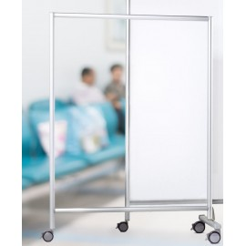 Paravent mobile transparent Ropimex RSW
