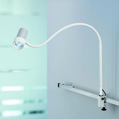 Lampe d'examen LED DERUNGS HALUX N30 avec fixation sur rail