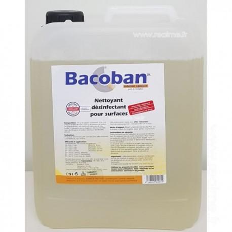 Détergent désinfectant BACOBAN DL bidon de 5 litres