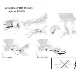 Enrouleur de câble pour divan d'examen iDuolys ou iQuest