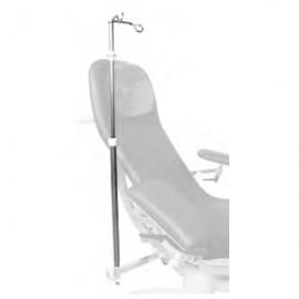 Tige porte-sérum pour fauteuil Deneo