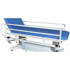 Barrières repliables pour divan d'examen Vog Médical