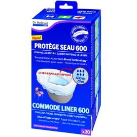 Protège seau hygiénique Dr HELEWA 600