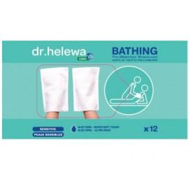 Gant de toilette jetable imprégné Dr HELEWA HCBG12
