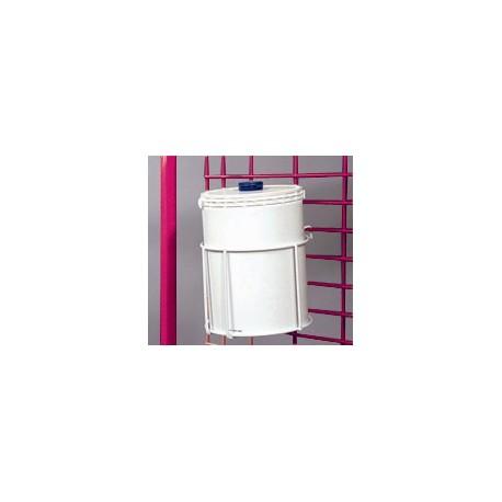 Support container à lingettes pour chariot de change