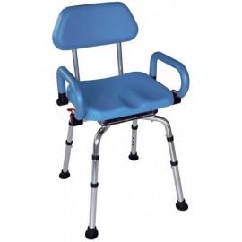 Chaise de douche assise pivotante Austra