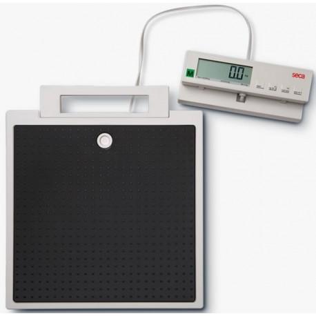 Pèse personne électronique plat à tête détachable SECA 899 Classe III Médicale