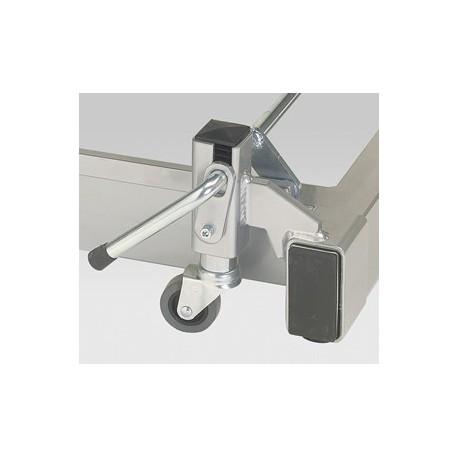Support roulettes escamotables pour divan Carina 326