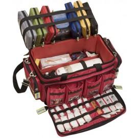 Mallette d'urgence médical professionnel ELITE BAGS CRITICAL ouverte