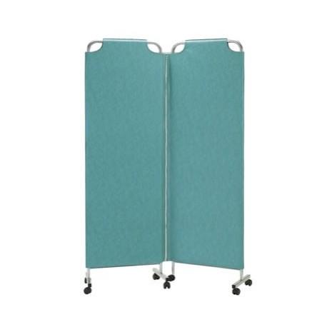 Paravent médical mobile 2 panneaux Carina 118