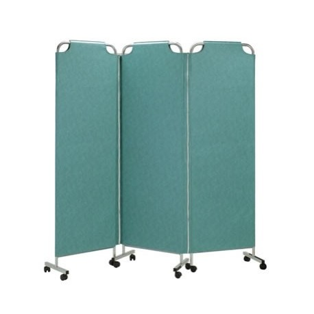 Paravent médical mobile 3 panneaux Carina 118 03