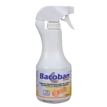 Détergent désinfectant BACOBAN DL surface haute et dispositifs médicaux
