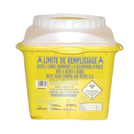 Collecteur d'aiguilles Sanicollecteur Biocompact 1.8L