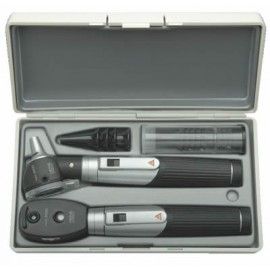 Trousse HEINE Mini 3000 Ophtalmoscope et Otoscope F.O. en étui rigide