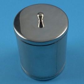 Boîte à coton en inox Holtex