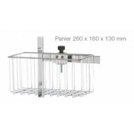 Panier pour rail 260 x 160 x 130mm