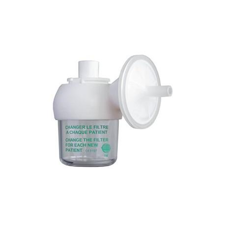 Flacon de sécurité 100ml avec filtre antibactérien plastique pour RVTM3