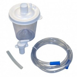 Kit bocal patient unique pour aspirateurs de mucosités