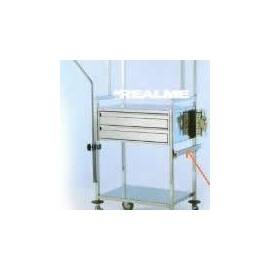 Rail porte accessoires pour chariot 600x400mm