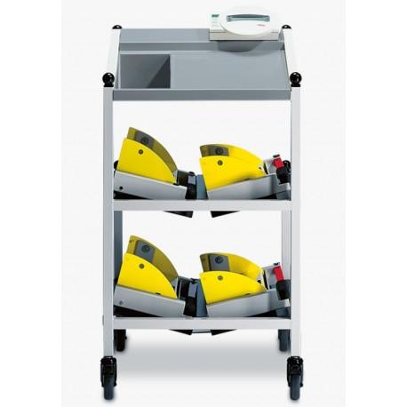 Pèse-lit électronique seca 985 avec chariot pour accessoires