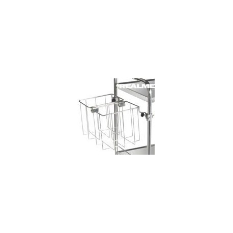 Support sac double 2x20L Tourinox