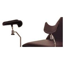 Porte jambes pour divan d'examen Holtex, la paire