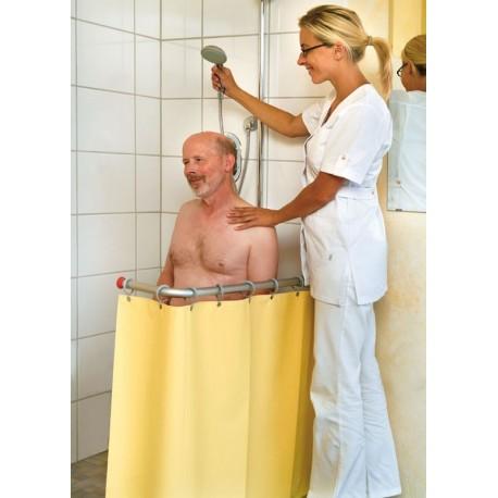 """Système de protection de douche contre les éclaboussures en""""L"""" RDL"""