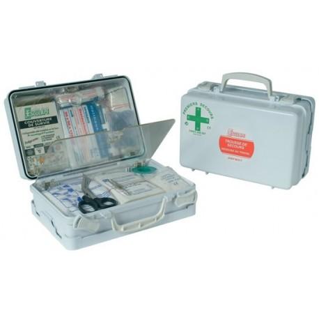 Trousse de secours entreprise 8 à 20 personnes ASEP ABS M.D.T. Esculape