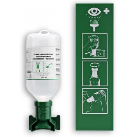 Station lave oeil ASEP 1 x 500ml Esculape