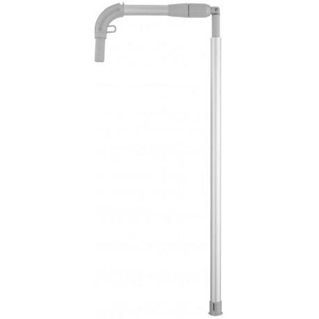 Barre télescopique ropimex pliable et pivotable longueur 2.20m
