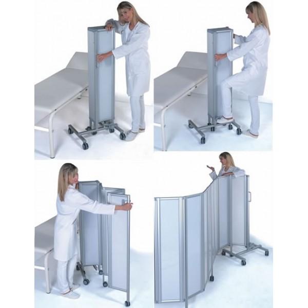 paravent mobile battants rigides ropimex hauteur 145 cm. Black Bedroom Furniture Sets. Home Design Ideas