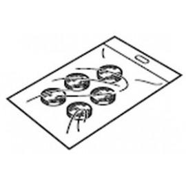 Filtres à air pour compresseur nébuliseur Omron C-30 - Le sachet de 5