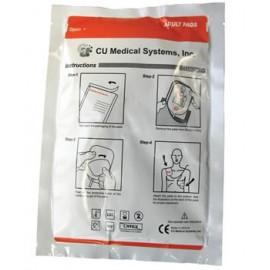 Electrodes adultes pour défibrillateur Déf-i