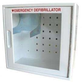 ARMOIRE DEFIBRILLATEUR - Armoire d'intérieur avec alarme pour défibrillateur Déf