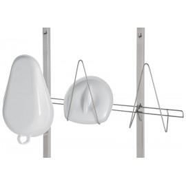 Support 2 bassins pour chariot de stérilisation