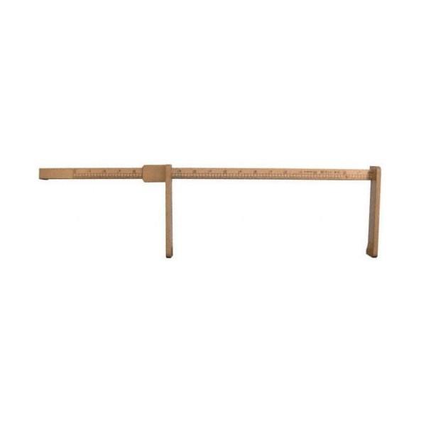 Toise b b en bois naturel - Toise en bois personnalisable ...